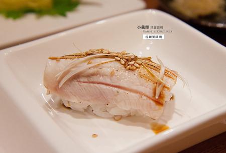 炙海鱺握壽司 broiled cobia fish nigiri sushi