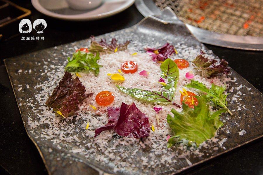 高雄 碳佐麻里 美術館 左營 燒肉推薦 梵谷的生牛沙拉