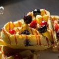 霍克伯爵 左營 咖啡廳 唐寧 TWININGS 莓果冰淇淋鬆餅 NTD125