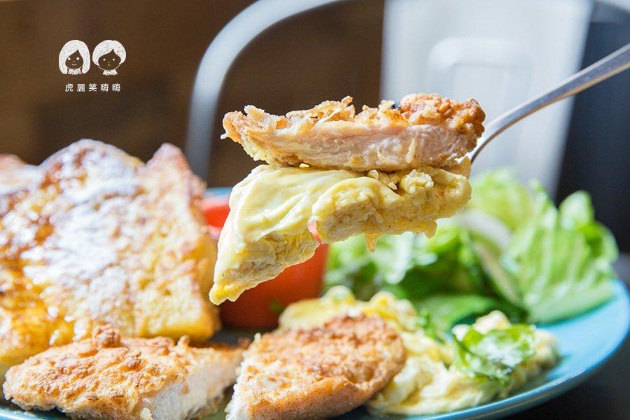 可里小餐館 高雄 新興區 早午餐 活力早餐 附80元飲品(可補差額) 法式煎蛋土司 NTD200
