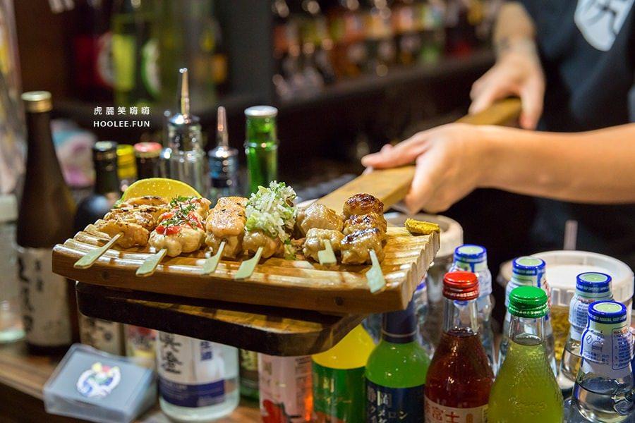 奧尻爐端燒 台南 日本料理 奧尻雞肉串盛 TWD300