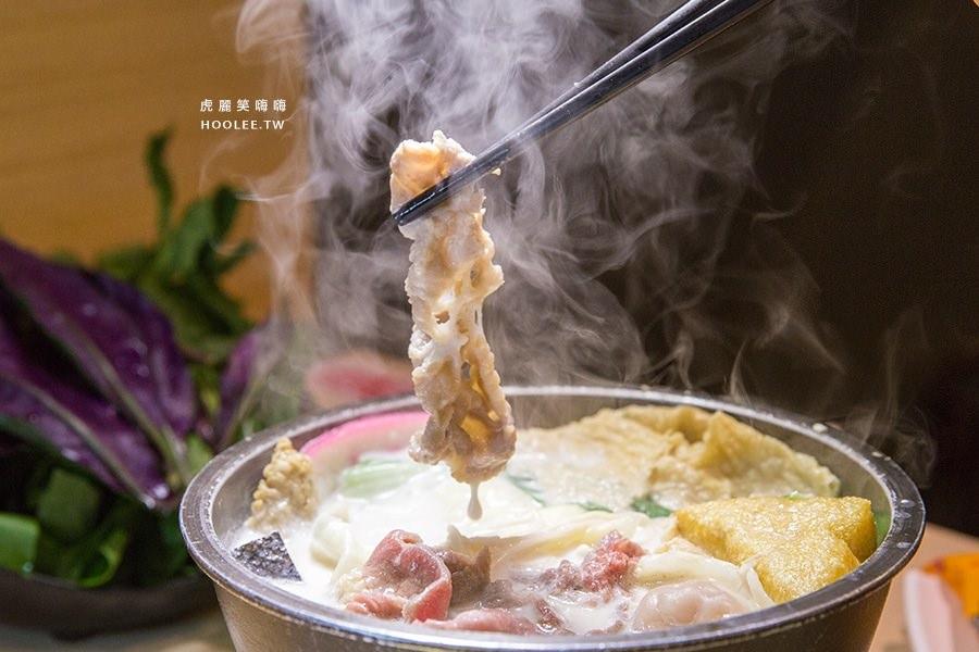 茉荳獨享鍋 高雄火鍋 北海道牛奶鍋 NTD135 豬肉