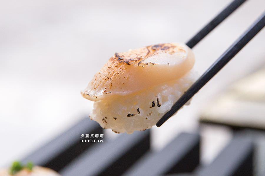㐂壽司 囍樂食堂 囍炙燒 12貫 (鮪魚/旗魚/鮭魚/鰻魚/干貝/小管) NT$370