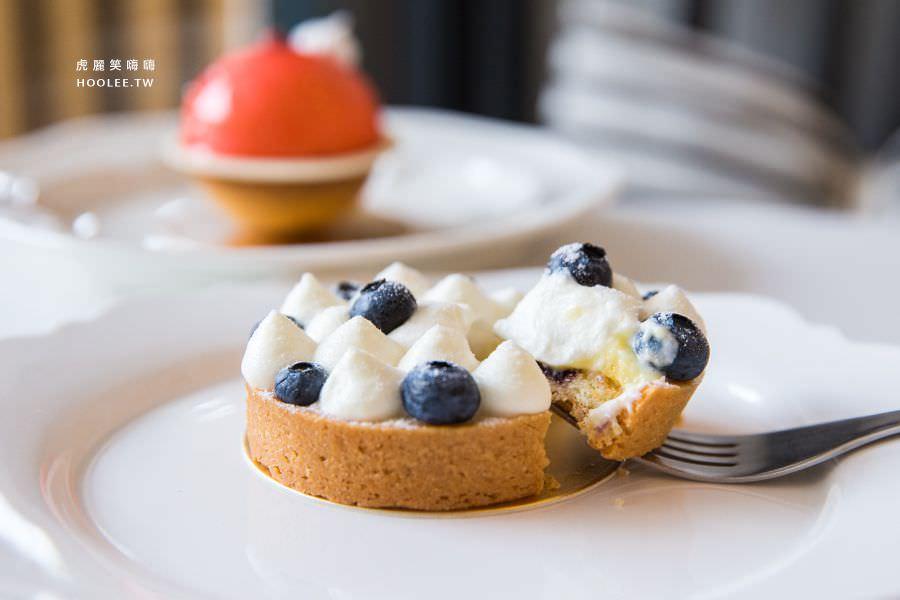 蔓蔓食光 屏東甜點 藍莓夫人塔 NT$130
