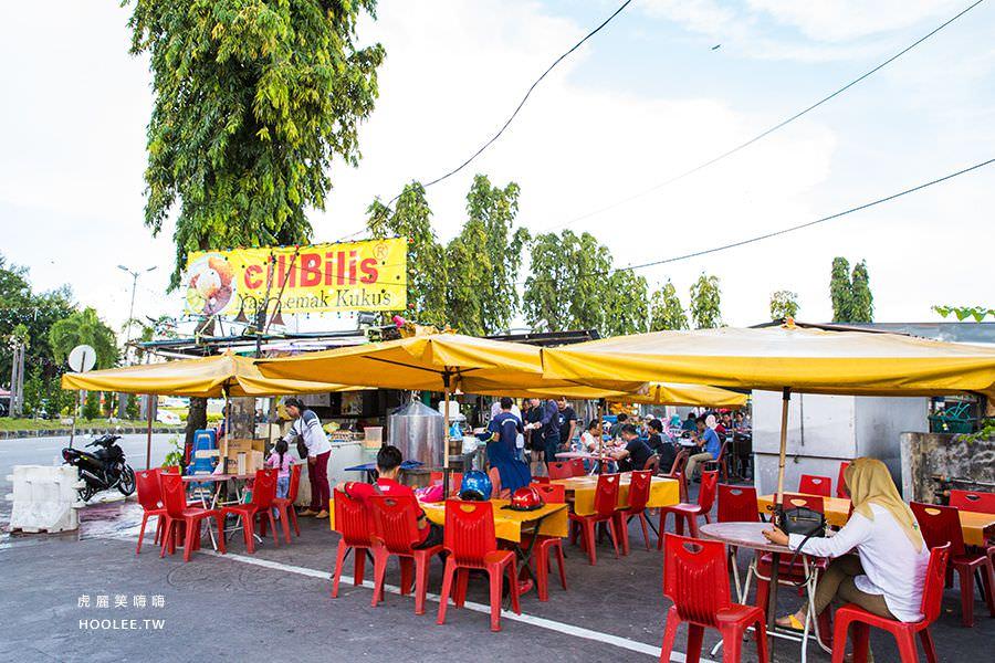 新關仔角夜市 Anjung Gurney 檳城美食 座位
