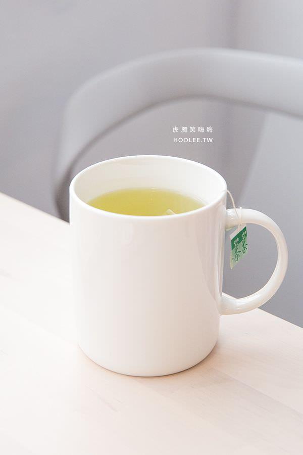 咘然居早午餐 玄米茶