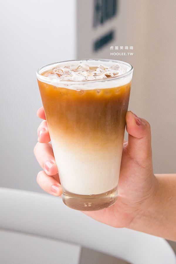 咘然居早午餐 原味拿鐵咖啡(冰) NT$70