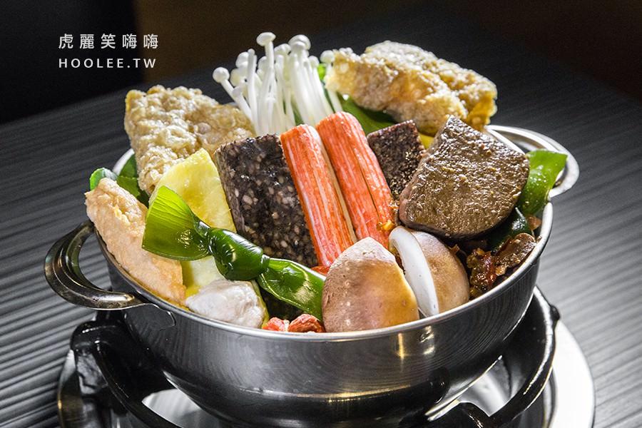 五鮮級平價鍋物建工店 高雄平價火鍋推薦 鴛鴦鍋(兩種湯底) 129元 麻辣湯 素湯