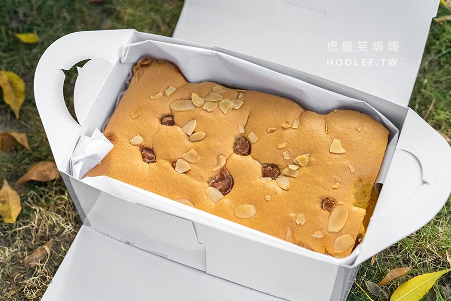 朵玫絲甜點森林 高雄古早味蛋糕推薦 芋頭布丁 半份80元 一份160元