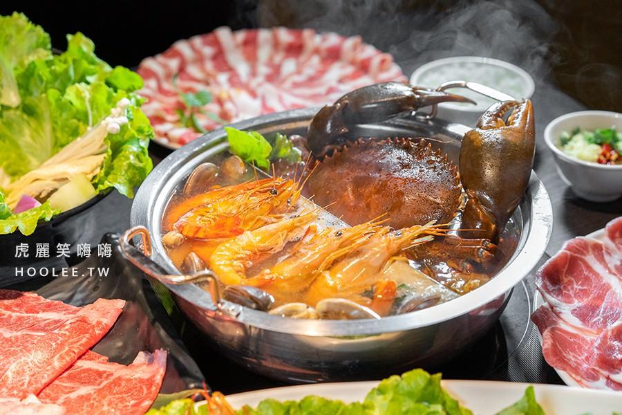 舞古賀鍋物專門店 高雄火鍋推薦 頂級肉品平價專賣 痛風螃蟹鍋 2280元 (季節限定)