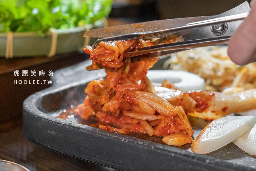 水刺床韓式烤肉餐廳 高雄韓式燒肉推薦 燒肉兩人套餐 SET C 套餐牛肉拼盤 1090元