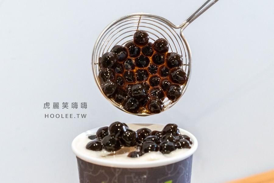 Bobapop x R&R 聯名店 高雄飲料推薦 大吉嶺紅茶拿鐵 L杯45元 +珍珠 5元