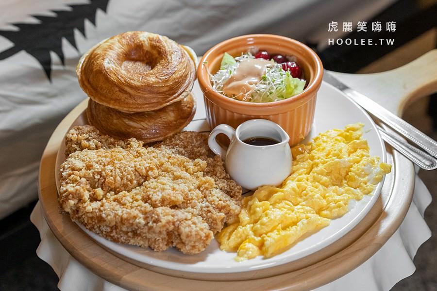 療癒甜甜圈 高雄甜點推薦 鳳山早午餐 泰式椒麻雞餐 179元