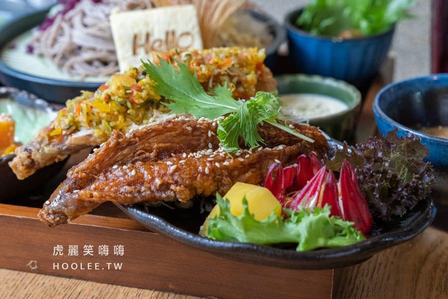 Hello無菜單日式創意料理 高雄早午餐推薦 安康魚 358元