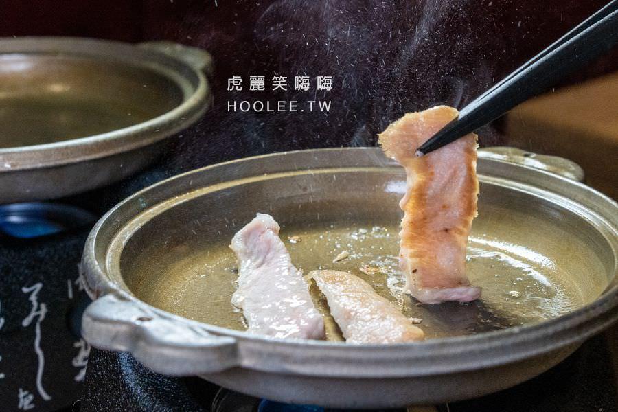 宮鶴炙燒專門店 高雄燒烤燒肉推薦 黑毛黃金松阪豬 150g 350元 附花東芋香米飯、宮鶴燉湯、沙拉、甜品