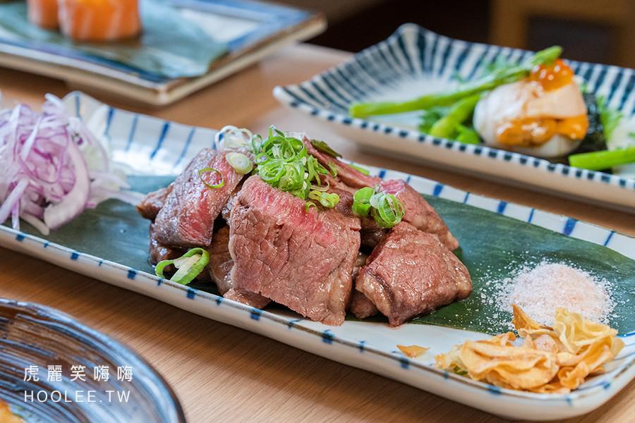 佐渡森壽司丼飯 高雄日本料理推薦 鹽烤無骨牛小排 380元
