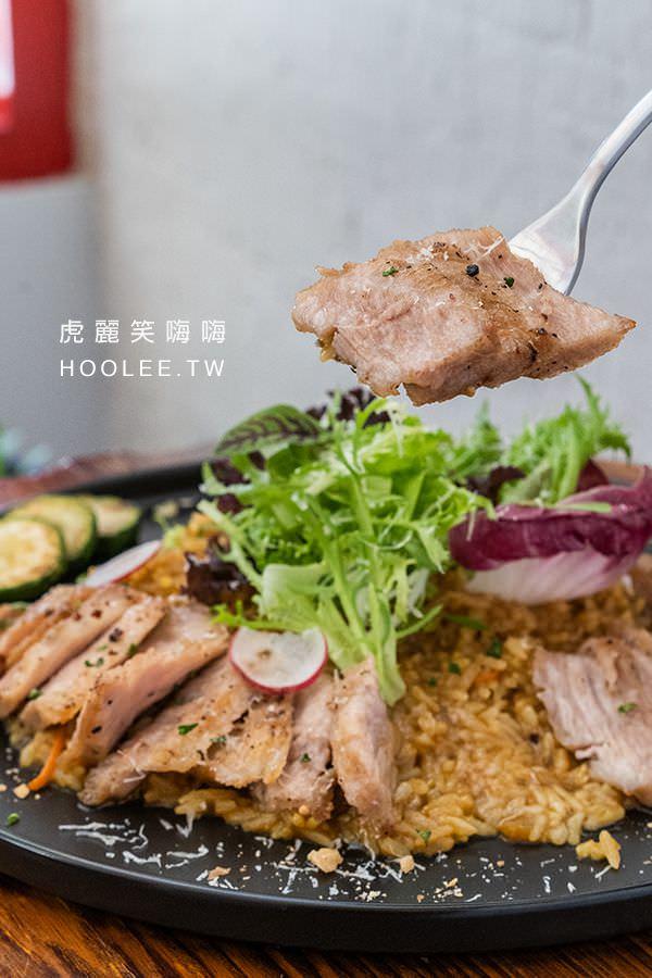 夯漫廚房 高雄全天早午餐推薦 日式咖哩鹽烤豬頰肉飯 250元