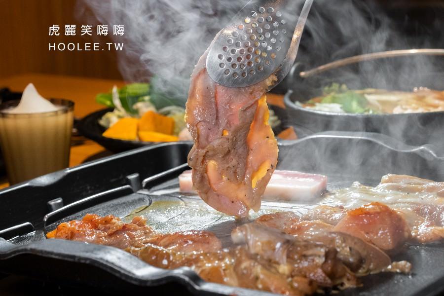 好好吃肉 韓式烤肉 x火鍋 吃到飽 高雄 醬燒鮮嫩豬