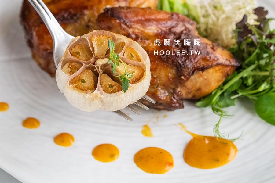 季洋莊園創意料理餐館 高雄咖啡廳推薦 米蘭烤半雞佐泰式燒醬 420元