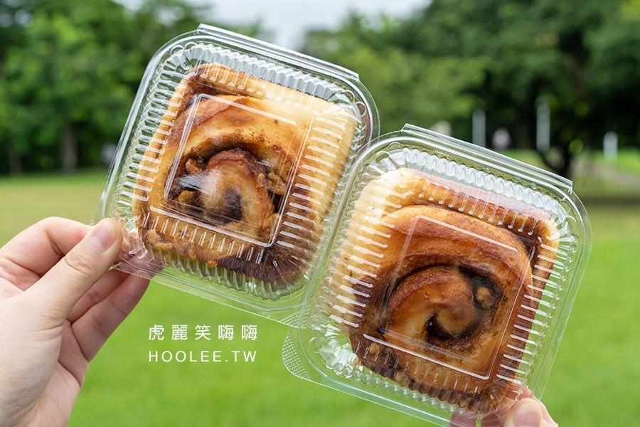潘樓烘焙 屏東麵包推薦 歐式麵包 肉桂捲 60元