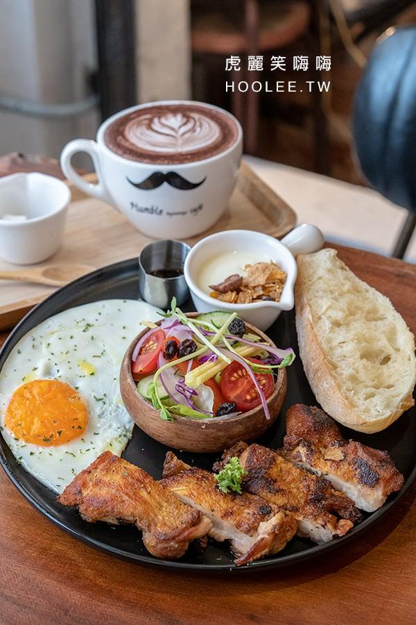 亨寶咖啡 高雄早午餐 義風鄉間雞腿排 360元