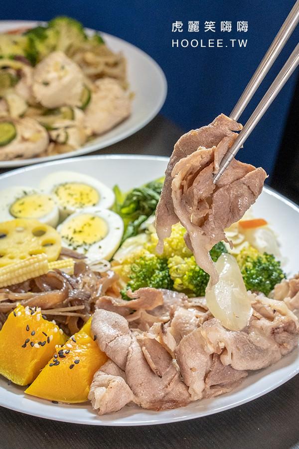 每一天減醣健康廚房 鳳山 健康餐盒 奶香醬燒豬 85元