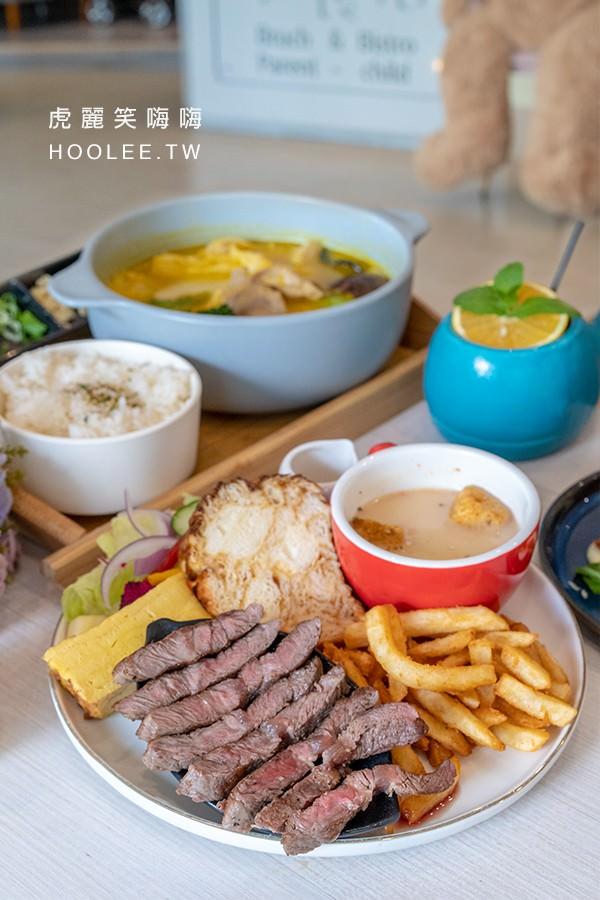 小食后 高雄親子餐廳 美術館早午餐 百里嫩煎翼板牛 380元