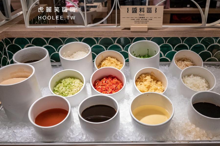 漢來潮之鍋物 高雄超市火鍋 沾醬
