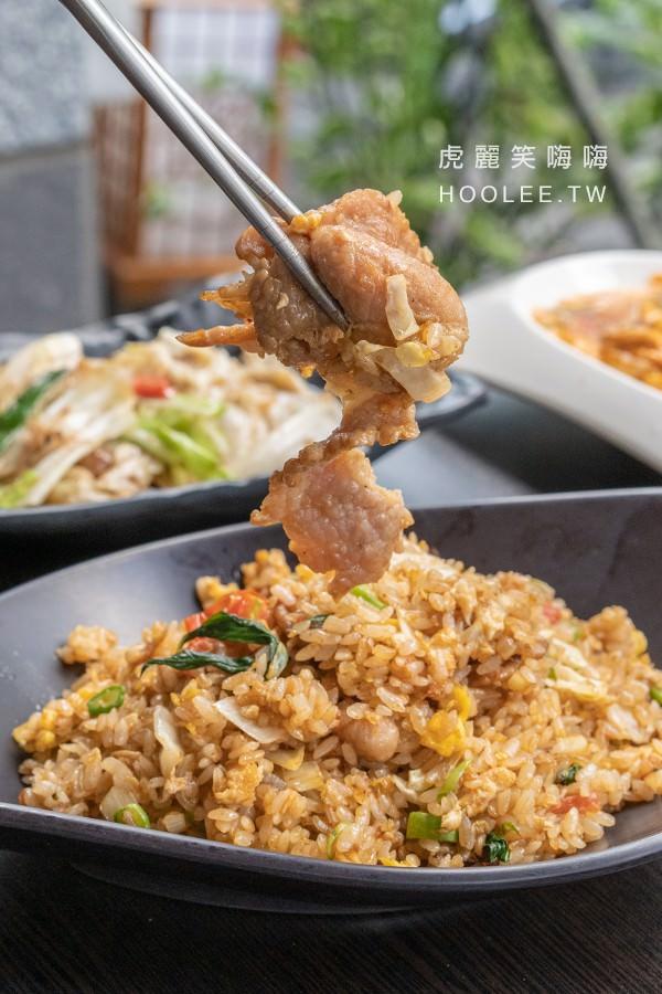泰炒捌食 高雄平價泰式料理 打拋豬肉炒飯 90元