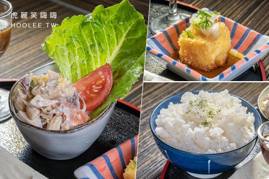 咕嚕咕嚕家 鳳山五甲店 高雄咖哩推薦 005味噌豚梅花肉定食 168元
