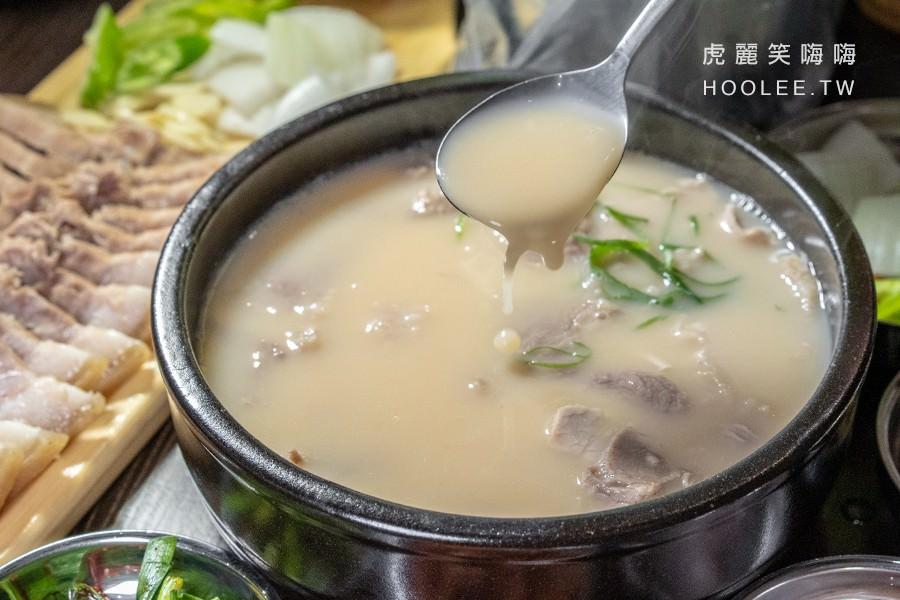 小月豬肉湯飯 高雄韓式料理推薦 豬肉湯泡飯 200元