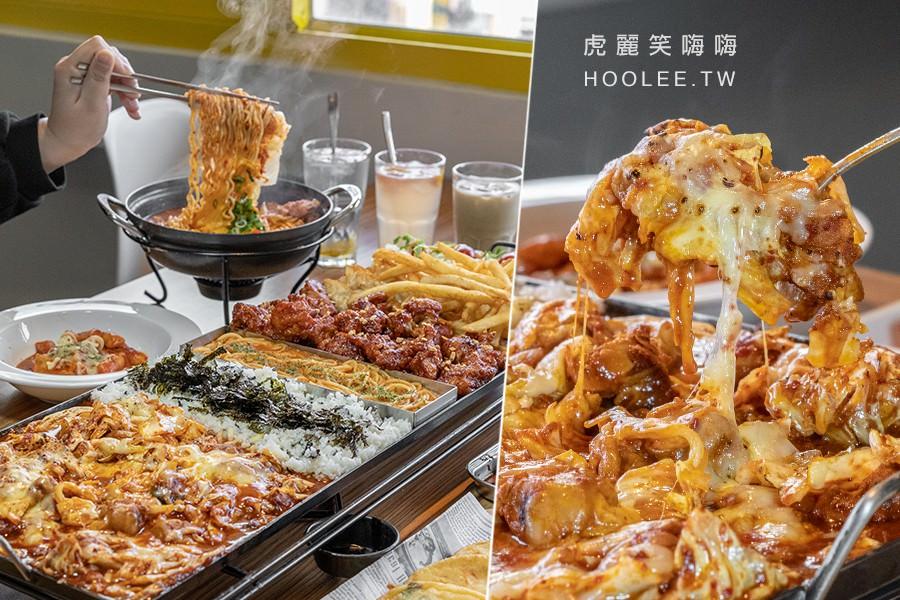 I'm Kimchi 我是泡菜 高雄韓式料理推薦 4人SET 75雞拼盤 2170元