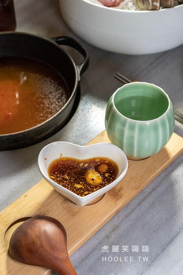 樂未秧農夫市集鍋物 高雄火鍋推薦 招牌果醋沾醬