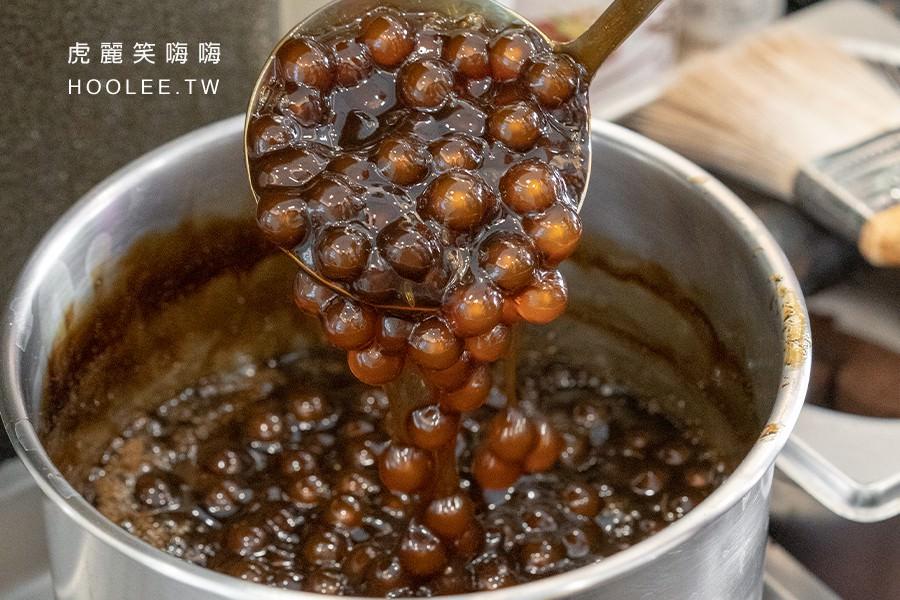 九九嶺好茶 高雄飲料推薦 手炒黑糖鮮奶珍珠 70元