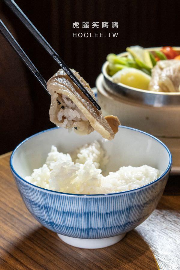 邁泉豬排 高雄日式豬排推薦 鹽麴蒸豚 白飯