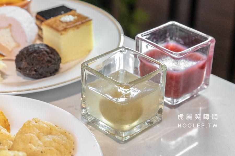 雲咖啡 Cloud Café 高雄甜點吃到飽 悅城廣場 莓果凍 梅子凍