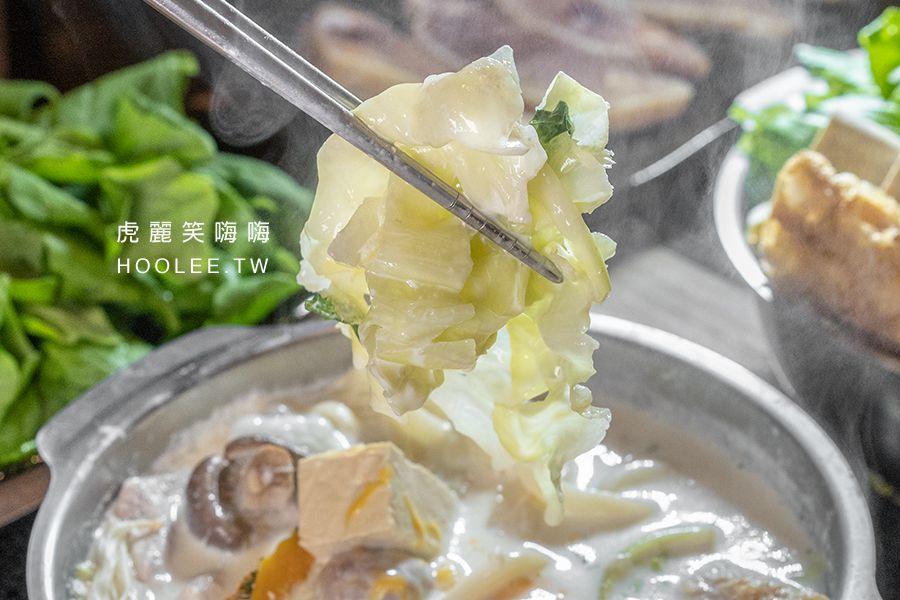 火鍋家平價火鍋 高雄火鍋推薦 起司牛奶鍋 140元 + 烏龍麵 10元