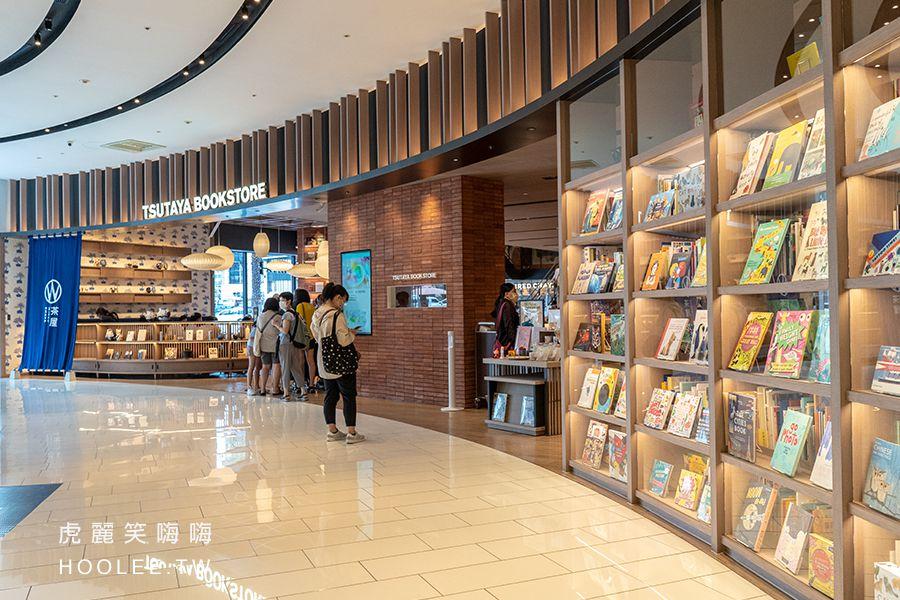 TSUTAYA BOOKSTORE蔦屋書店 高雄 大立百貨 一樓入口處