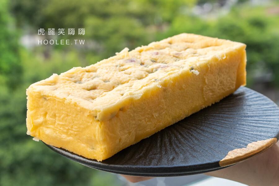 米諾琪手作烘焙 高雄麵包推薦 百香果蛋糕 250元/條 季節限定