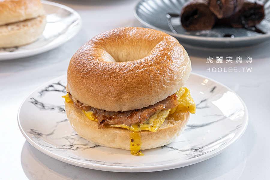 咕嘰咕嘰早午餐 瑞南店 前鎮 高雄早午餐推薦 秘制燒肉煎蛋 85元
