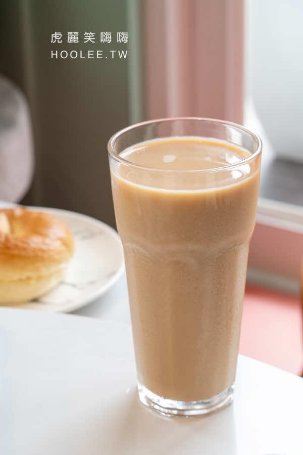 咕嘰咕嘰早午餐 瑞南店 高雄早午餐推薦 私房鮮奶茶 45元