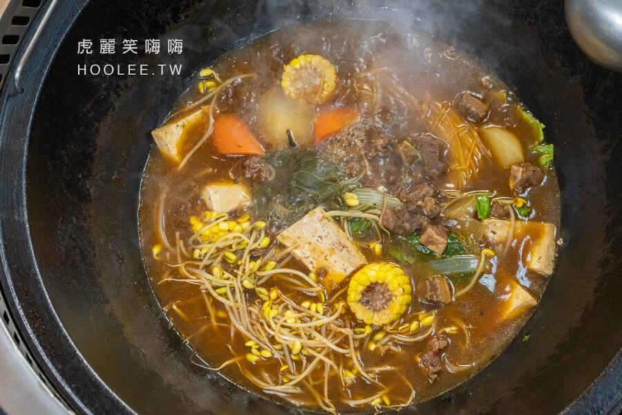小媳婦鐵鍋燉 高雄 東北菜 推薦 牛腩鐵鍋燉 990元/份