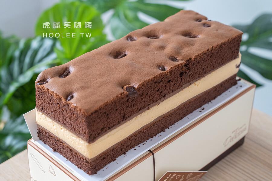 魯道芙 蓬鬆手作烘焙 高雄甜點推薦 巧克力布蕾 210元