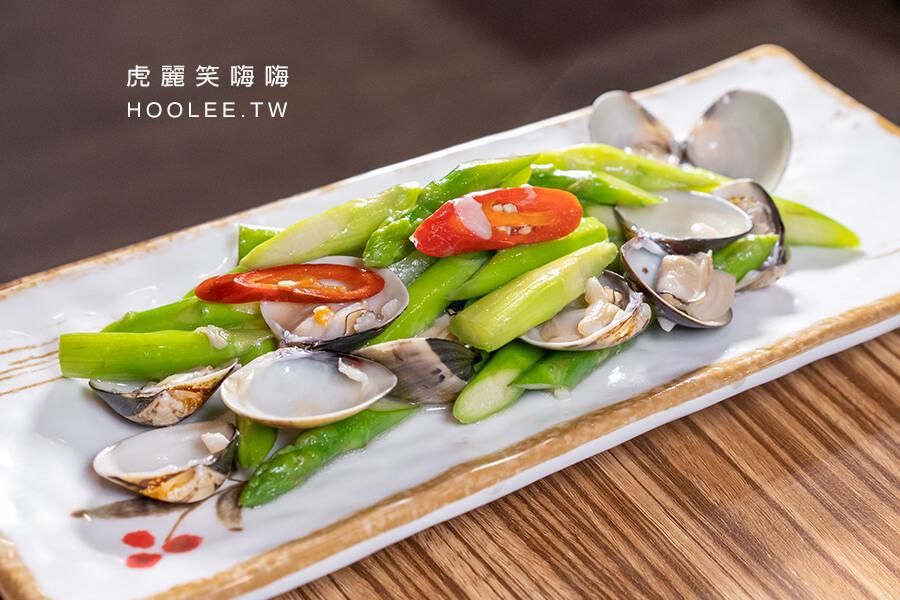 領鮮迷你土雞鍋 高雄雞湯鍋推薦 蘆筍蛤蜊 150元