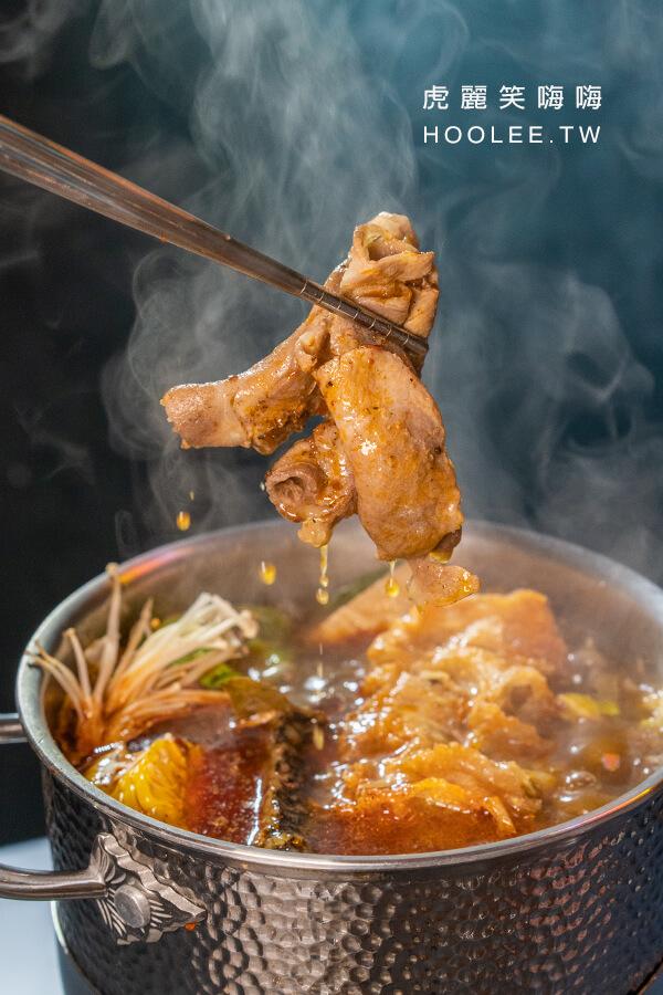 松花精品個人鍋 高雄小火鍋推薦 鳳山個人鍋 台灣認證豬肉片 50元