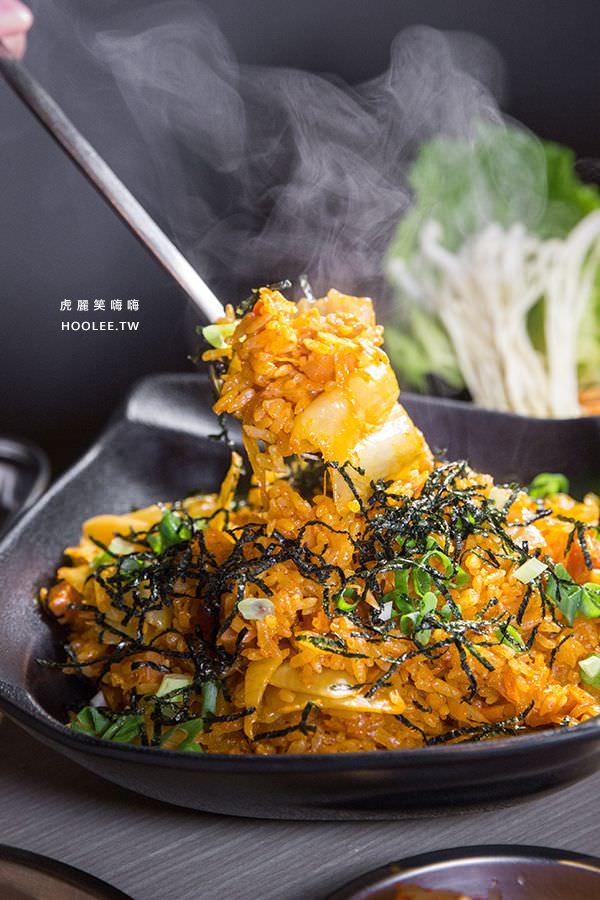 油蔥酥韓烤肉村 高雄韓國烤肉 泡菜炒飯
