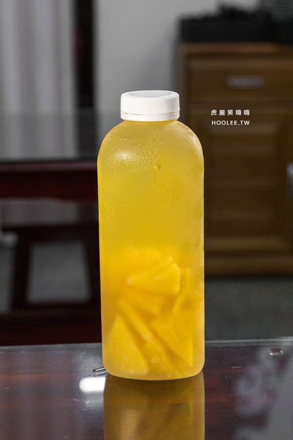 旭津壽司 高雄平價日本料理 金鑽鳳梨冰茶 NT$95