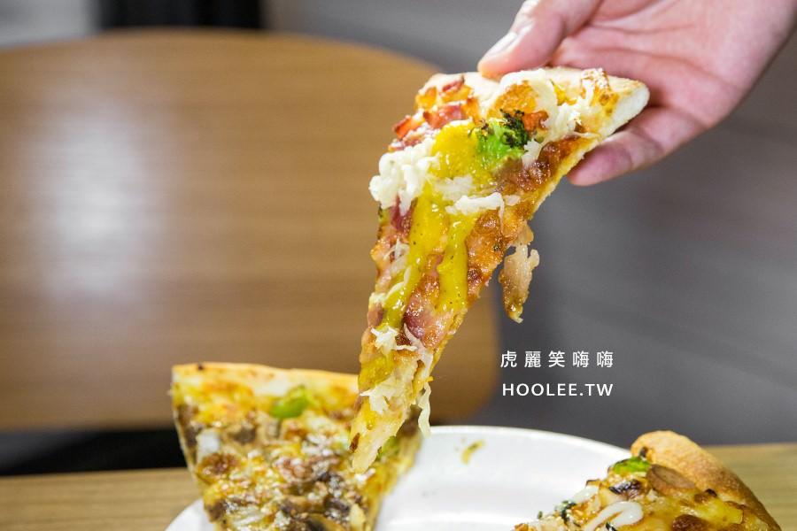 必勝客歡樂吧 高雄夢時代店 高雄比薩吃到飽 西班牙辣腿總匯比薩